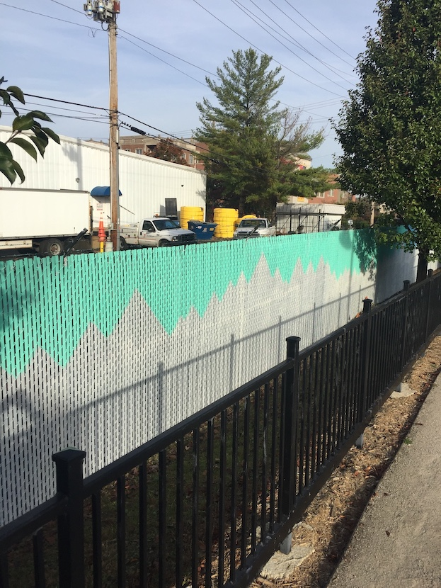 The B-Line Trail (2016), between West 3rd and 4th streets, artist — Drew Etienne