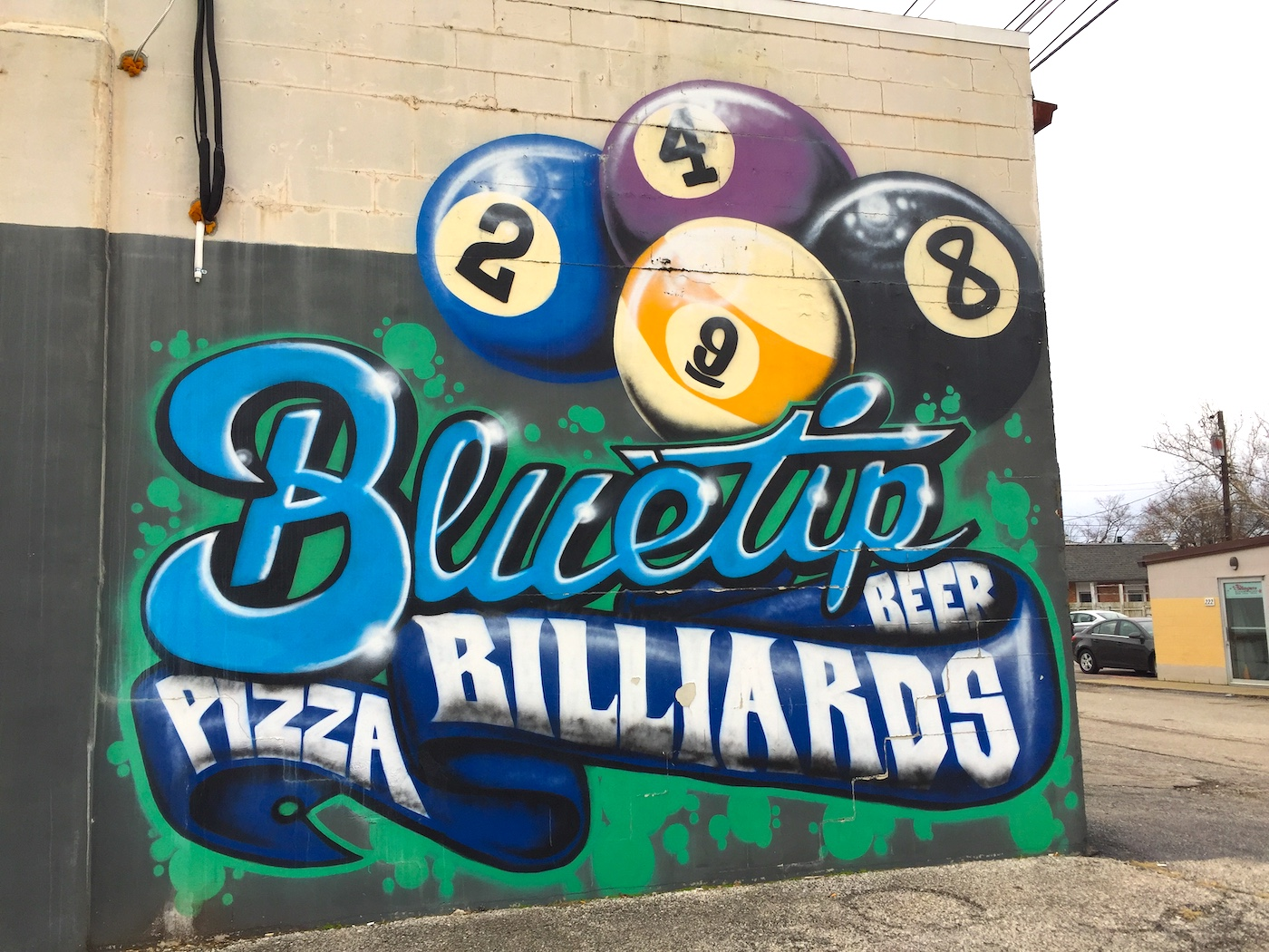 Bluetip Billiards, 426 S. College Ave.