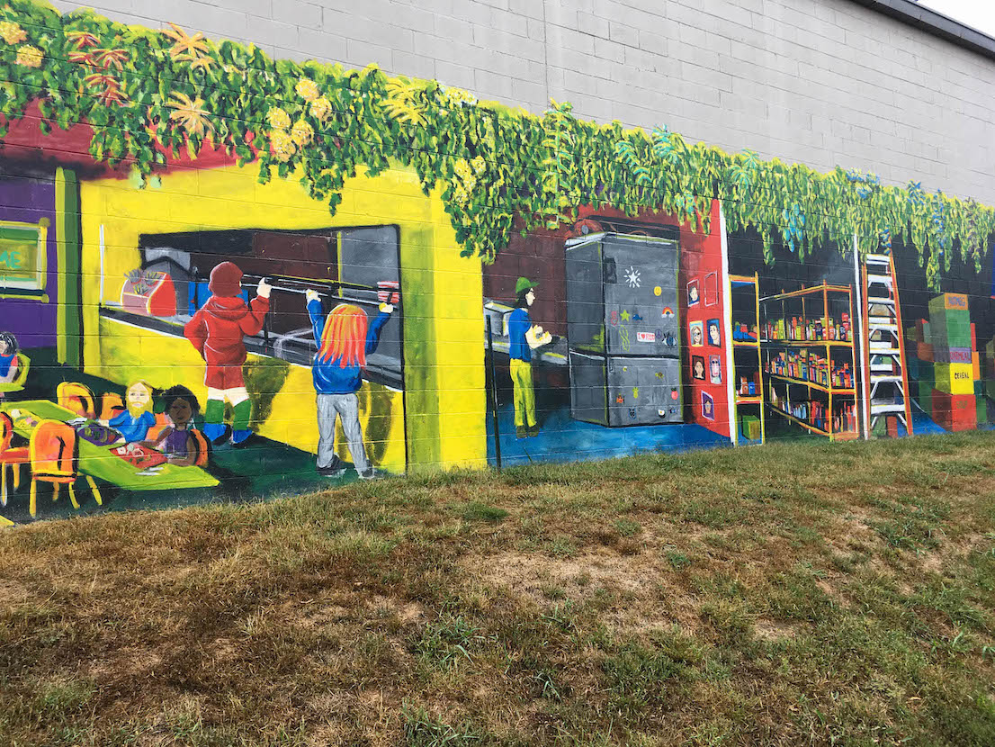 Community Kitchen (2019), 1515 S. Rogers St., artist — Adam Long