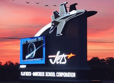 The Hauser Jets are in Hope, Indiana, near Columbus.