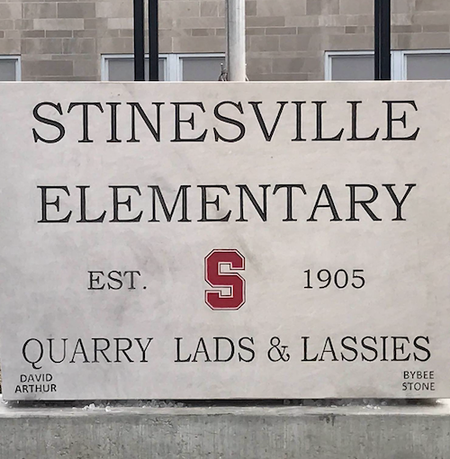 Stinesville students, from elementary through high school, went by the Quarry Lads and Lassies.