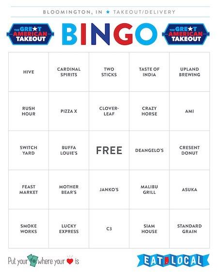 Bingo Card #1 | Kaye Lee Johnston