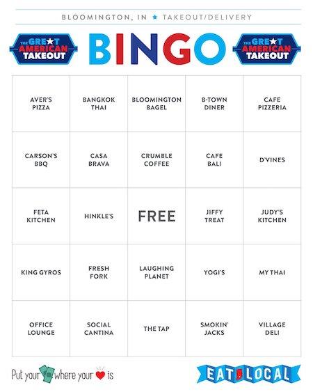 Bingo Card #2 | Kaye Lee Johnston