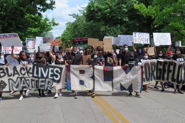 On June 5 in Bloomington, a peaceful march and protest called 'Enough Is Enough' was held in response to nationwide police brutality against People of Color. Organizers emphasized that, while people's energy at the event was encouraging, more needs to be done in the fight for racial justice.