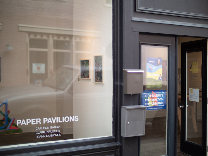 'Paper Pavilions' features the commissioned work of Midwestern artists from October 1 through November 21. | Photo by Ian Carstens