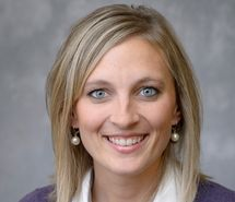 Ashlee Sudbury, community wellness coordinatoratPurdue Extension, works with four rural counties in southern Indiana to help solve problems such as access and availability to healthcare.   Courtesy photo
