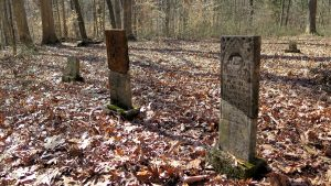 A cemetery is the only visible remnant of the Lick Creek settlement in Orange County, which during the 1800s was one of the largest settlements in Indiana for free people of color.   Limestone Post