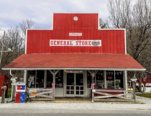 The Cataract General Store is another 'Owen County contender for statewide distinction.'   Photo by Diane Walker