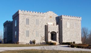 Clayshire Castle in Bowling Green, Indiana   Photo by Diane Walker