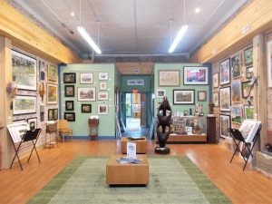 Juniper Art Gallery is just one of the reasons you could make a day of it in Spencer.   Photo by Diane Walker