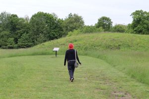 As a Native American born and raised in Indiana, historian Laura Martinez (pictured) says Angel Mounds is a sacred place for many Native American people, and they should have the same freedom to practice their spiritual beliefs as any other American. | Courtesy photo